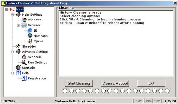 Product picture History Cleaner -- Protect Your Online Privacy